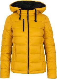Żółta kurtka Pepe Jeans w stylu casual