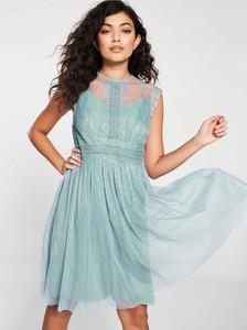 Turkusowa sukienka Little Mistress