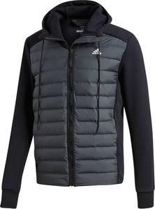 Granatowa kurtka Adidas w stylu casual