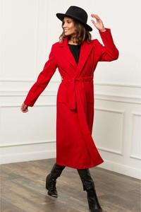 Czerwony płaszcz Le Comptoir Du Manteau