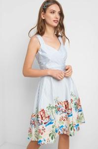 d4a75258a9 Sukienka ORSAY midi w stylu casual
