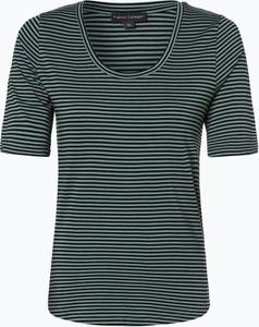T-shirt Franco Callegari z bawełny z krótkim rękawem z okrągłym dekoltem