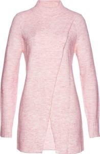 Różowy sweter bonprix bpc selection