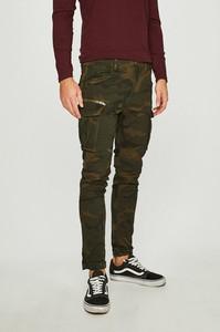Zielone spodnie Jack & Jones z bawełny