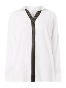 Bluzka Sheego w stylu casual z długim rękawem z dekoltem w kształcie litery v