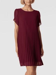 Czerwona sukienka Apart Fashion mini z krótkim rękawem