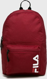 Bordowy plecak Fila