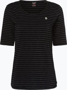 Niebieski t-shirt Scotch & Soda z krótkim rękawem z okrągłym dekoltem