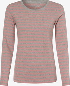 T-shirt brookshire z długim rękawem z okrągłym dekoltem
