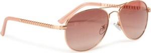 Złote okulary damskie Acccessories