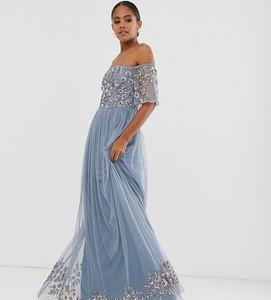 Sukienka Maya Tall maxi z odkrytymi ramionami