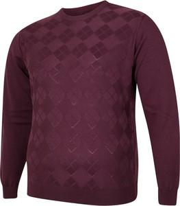 Czerwony sweter Bigsize