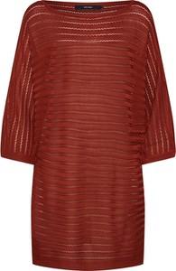 Czerwony sweter Vero Moda w stylu casual
