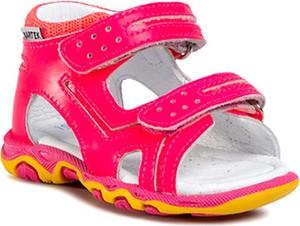 Buty dziecięce letnie Bartek na rzepy ze skóry