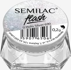 690 Pyłek Semilac Flash Holo Silver