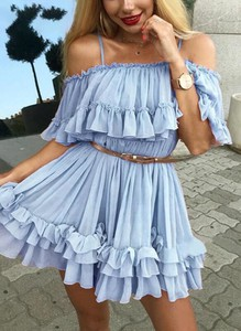 Sukienka Sandbella hiszpanka