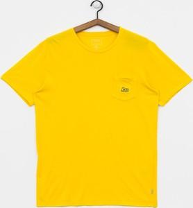T-shirt Quiksilver z bawełny z krótkim rękawem