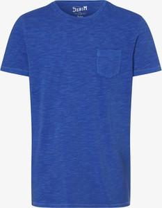 T-shirt DENIM by Nils Sundström z krótkim rękawem z bawełny