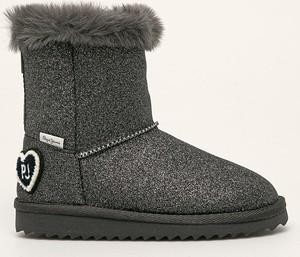 Buty dziecięce zimowe Pepe Jeans