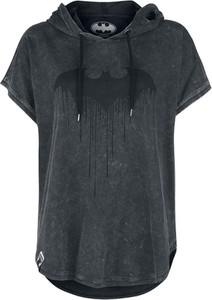 T-shirt Batman z bawełny w stylu casual z krótkim rękawem