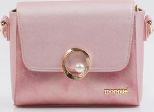 Różowa torebka Monnari mała