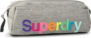eobuwie.pl Piórnik SUPERDRY - Rainbow Pencil Case W9810003A Grey Marl