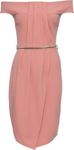 Różowa sukienka bonprix BODYFLIRT boutique