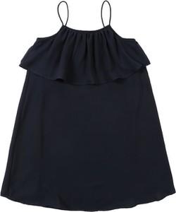 Granatowa sukienka dziewczęca Review For Teens z tkaniny