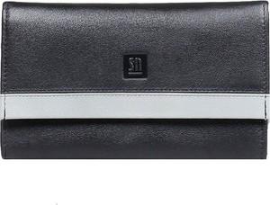 Czarny portfel Slontorbalski