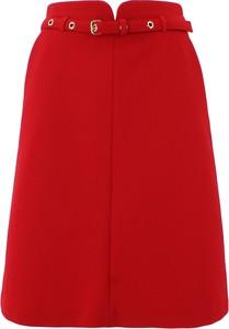 Czerwona spódnica Red Valentino mini