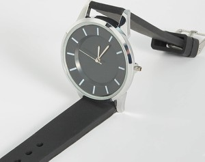 Sinsay - Czarny zegarek - Czarny