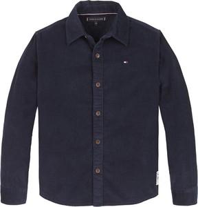 Granatowa koszula dziecięca Tommy Hilfiger