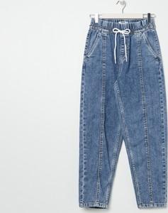 Niebieskie jeansy Sinsay z jeansu w stylu casual