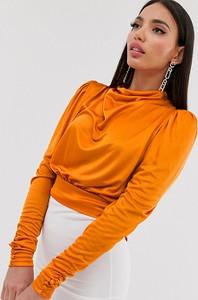 Pomarańczowy top Asos w stylu casual