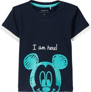 Czarna koszulka dziecięca Name it