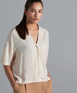 821d9d2139 Beżowe bluzki i tuniki damskie
