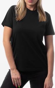 Czarny t-shirt Norse Projects z krótkim rękawem z bawełny z okrągłym dekoltem