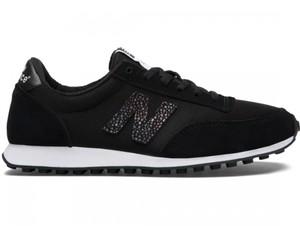 67af4f3b Czarne buty sportowe New Balance z płaską podeszwą