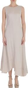 Sukienka Alysi maxi z okrągłym dekoltem bez rękawów