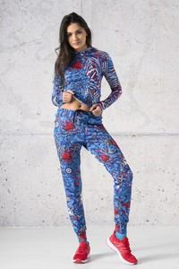 Spodnie Nessi Sportswear z dresówki