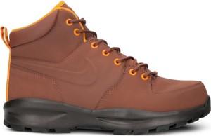 Brązowe buty zimowe Nike sznurowane