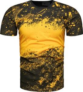 Żółty t-shirt Recea