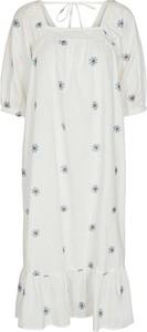 Sukienka Numph w stylu casual z bawełny oversize