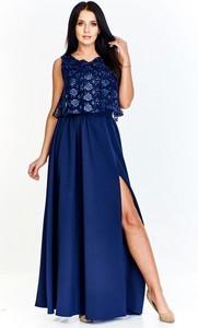 Sukienka Keyla z tkaniny z okrągłym dekoltem bez rękawów