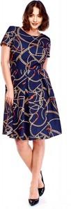 Sukienka Filloo w stylu casual z krótkim rękawem