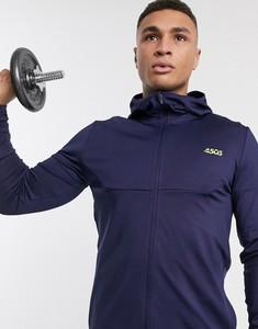 Granatowa bluza Asos z dresówki
