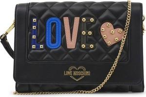 Torebka Love Moschino w stylu glamour