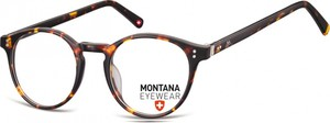 Stylion Okrągłe oprawki optyczne,lenonki korekcyjne Montana MA62A panterka