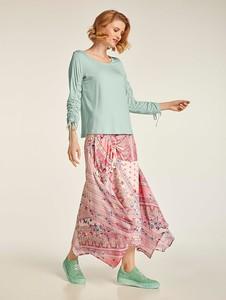 Różowa spódnica Heine w stylu casual maxi