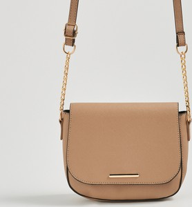 Brązowa torebka Sinsay w stylu casual